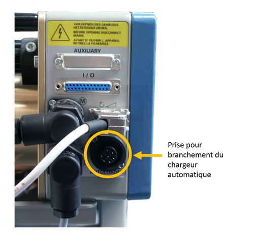 Prise chargeur automatique